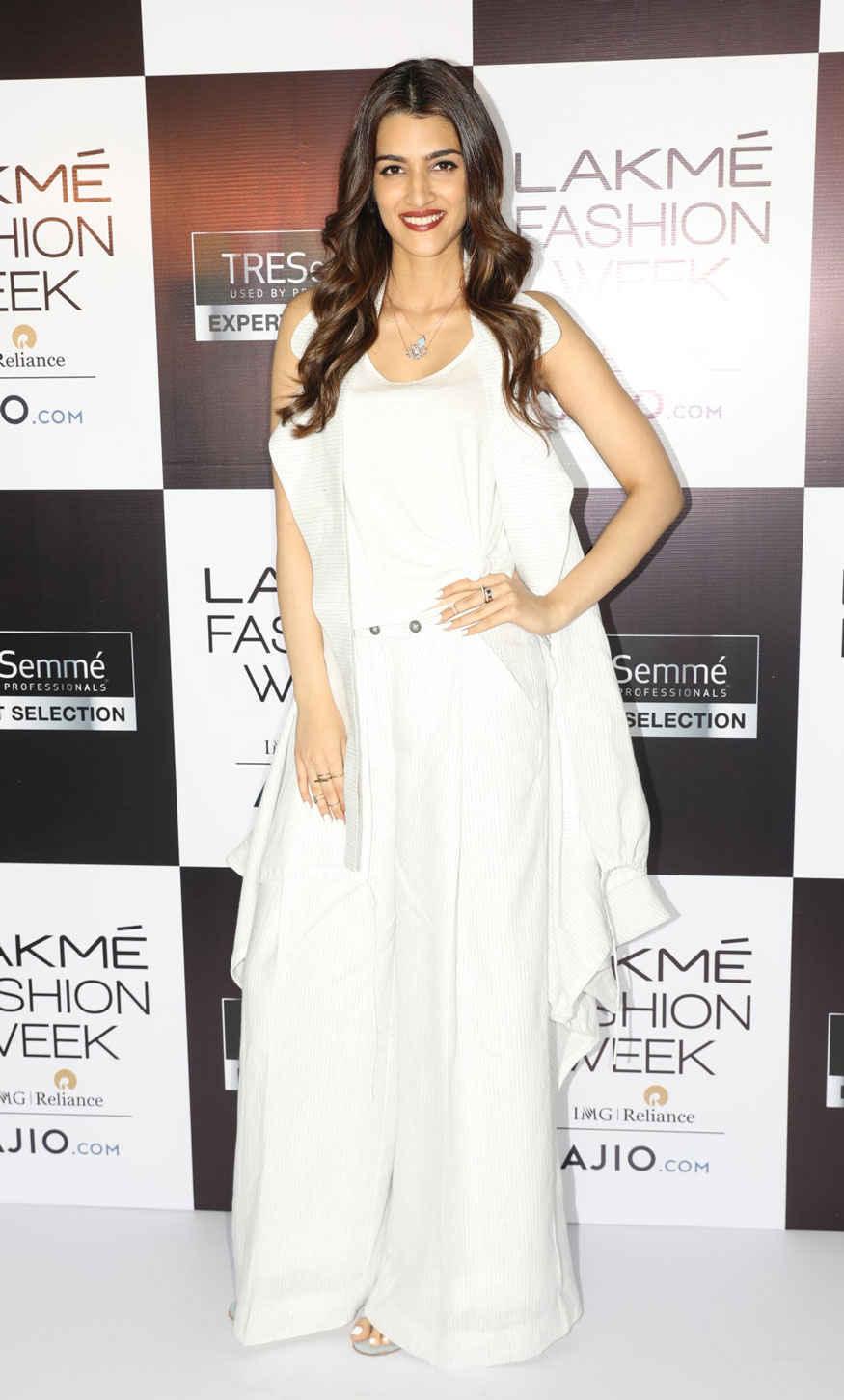 Kirti Sanon at Lakme Fashion Week Event
