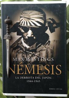 Portada del libro Némesis, de Max Hastings