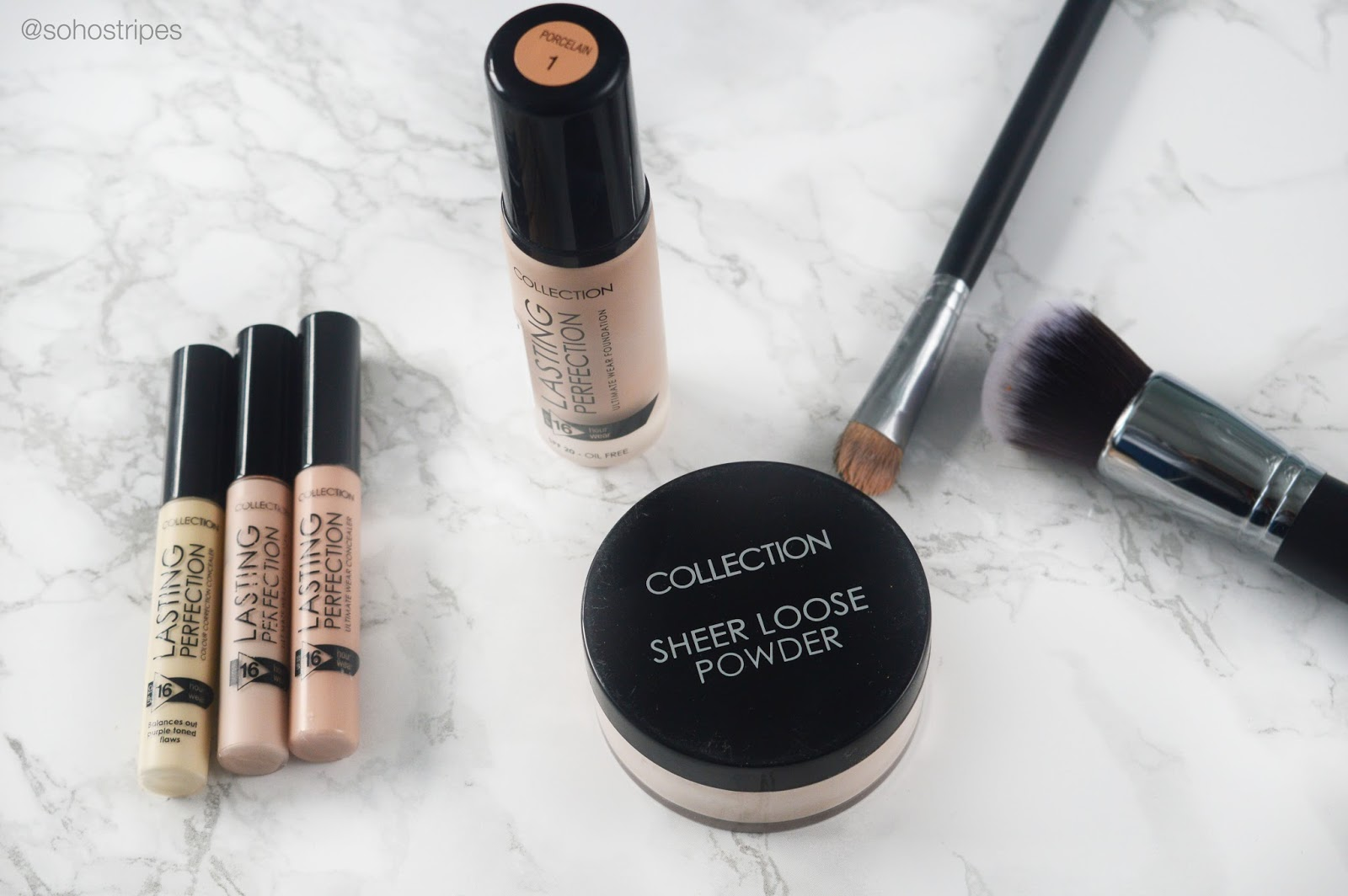 Collection Lasting Perfection Foundation Concealer Sheer Loose Powder