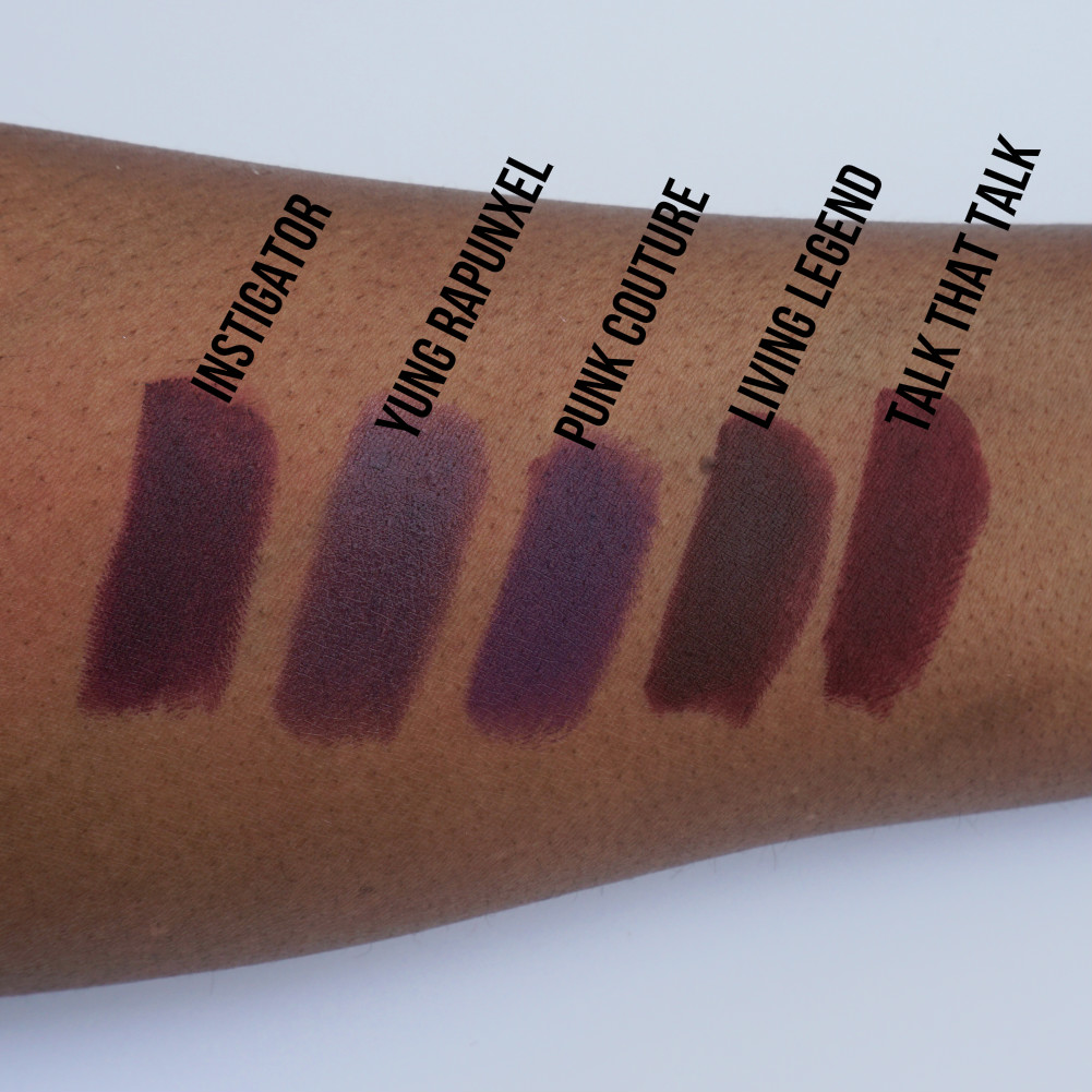 Summer Swatchfest Mac Lipstick Collection Swatched On