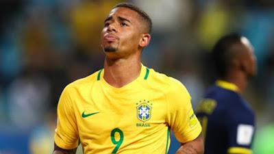 Manchester City's Gabriel Jesus accepts Brazil snub