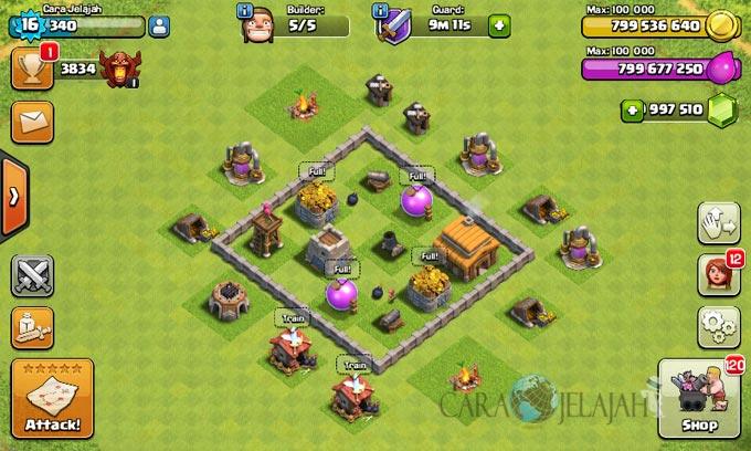 Desain Base Town Hall 3 Terbaik Dan Terbaru Clash Of Clans 28