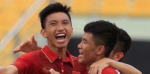 Đoàn Văn Hậu đã lập công lớn giúp U22 Việt Nam thắng đậm 4-0 trước U22 Đông Timor