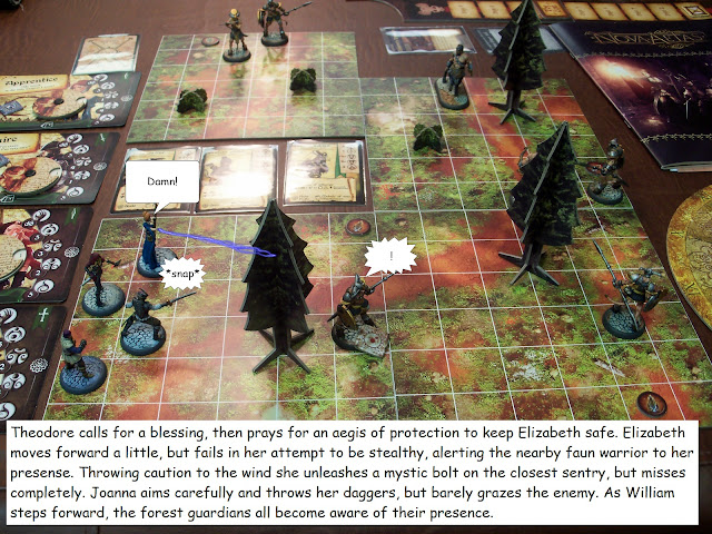 Nova Aetas board game playthrough Blood of Gaea