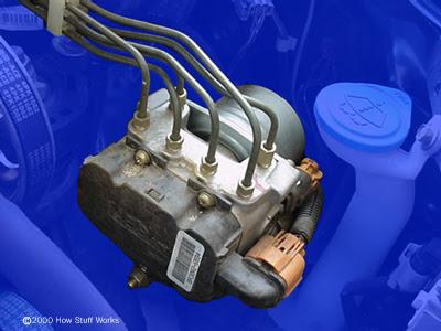 Hệ thống bơm thủy lực của phanh ABS