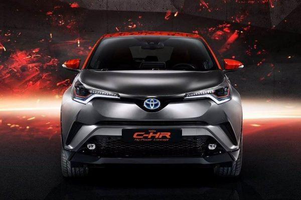 Toyota CHR Hy-Power Concept