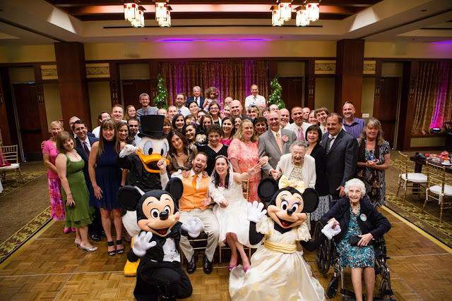 Disneyland Wedding - Group Picture {Root Photography}