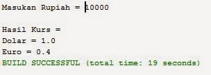 Source Code Java Netbeans Untuk Konversi Nilai Mata Uang