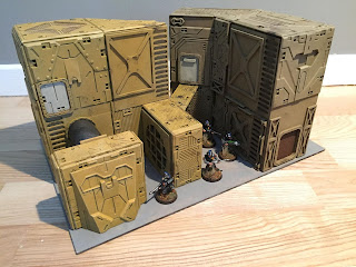 Northern Wargaming: Building Sci Fi Terrain in 28mm