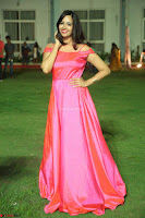 Actress Pujita Ponnada in beautiful red dress at Darshakudu music launch ~ Celebrities Galleries 015.JPG