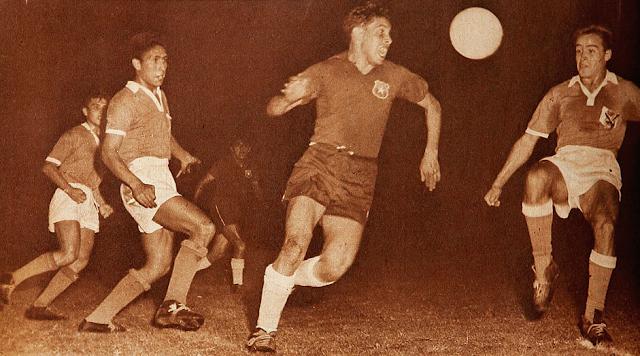 Chile y Bolivia en Campeonato Sudamericano de 1959