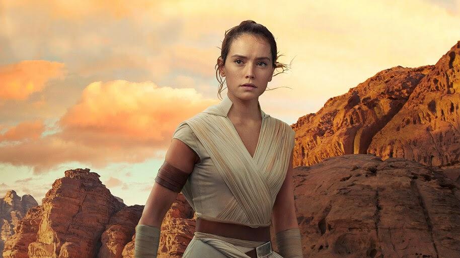 Rey Star Wars The Rise Of Skywalker 4k Wallpaper 349