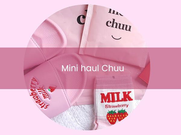 Moda Coreana: Chuu 츄 ♡ (mini haul)