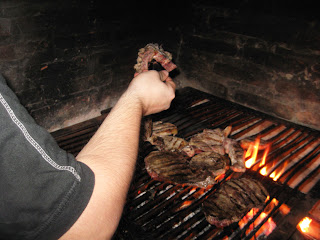 Grilled beef <br />beef sauce, Chimichurri, cooking, grill,