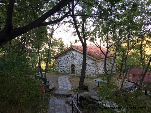 Capilla ortodoxa, fortaleza de Asén