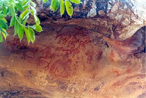 Bhimbetka Rock Paintings - Oldest Paintings Of India