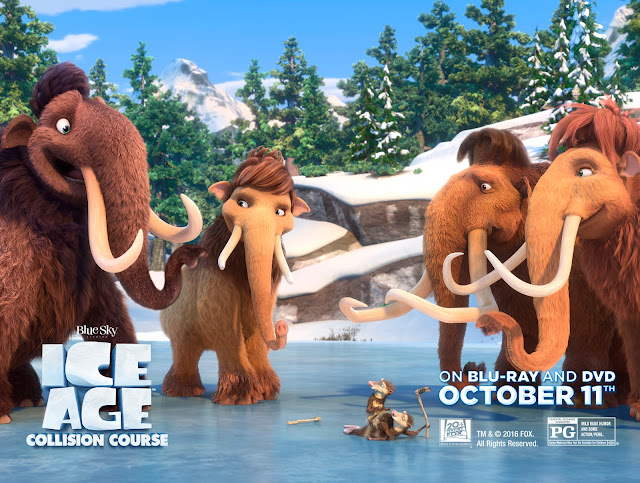 kids movies, Ice Age Collision Course