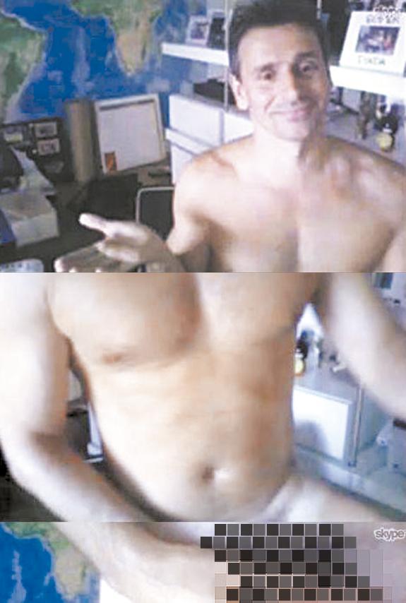 ator Murilo Rosa pelado