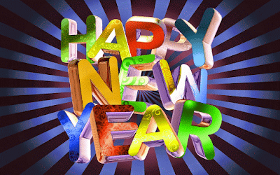 Happy New Year HD Wallpaper 1080p