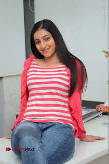 Telugu Actress Mouryani Latest Pos in Blue Denim Jeans  0173.JPG