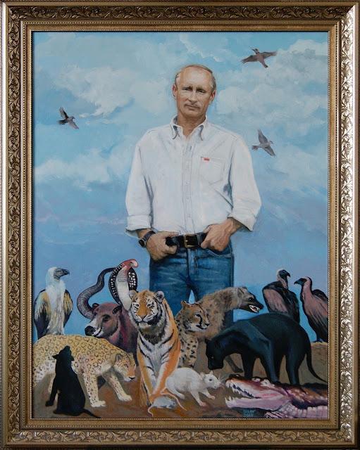 """Vladimir Putin Primavera"" - Anatoly Silov - MichellHilton.com"