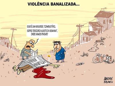 Resultado de imagem para banalização da violência