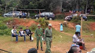 Gathering di Lapangan Desa Sukaresmi Kec Sukamakmur Kab Bogor