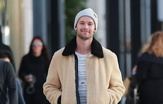 'If I thought I could better the country': Patrick Schwarzenegger looks casual cool as he says he may follow 'Governator' dad Arnold into politics