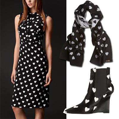 Como combinar un vestido negro de bolitas
