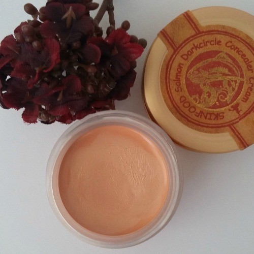 Skinfood Salmon Dark Circle Concealer Cream 1 Salmon Blooming