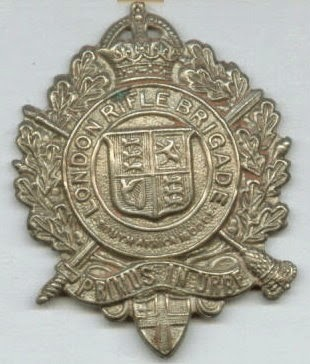 1/5th Battalion London Regiment  (London Rifle Brigade)  (From London Remembers website)
