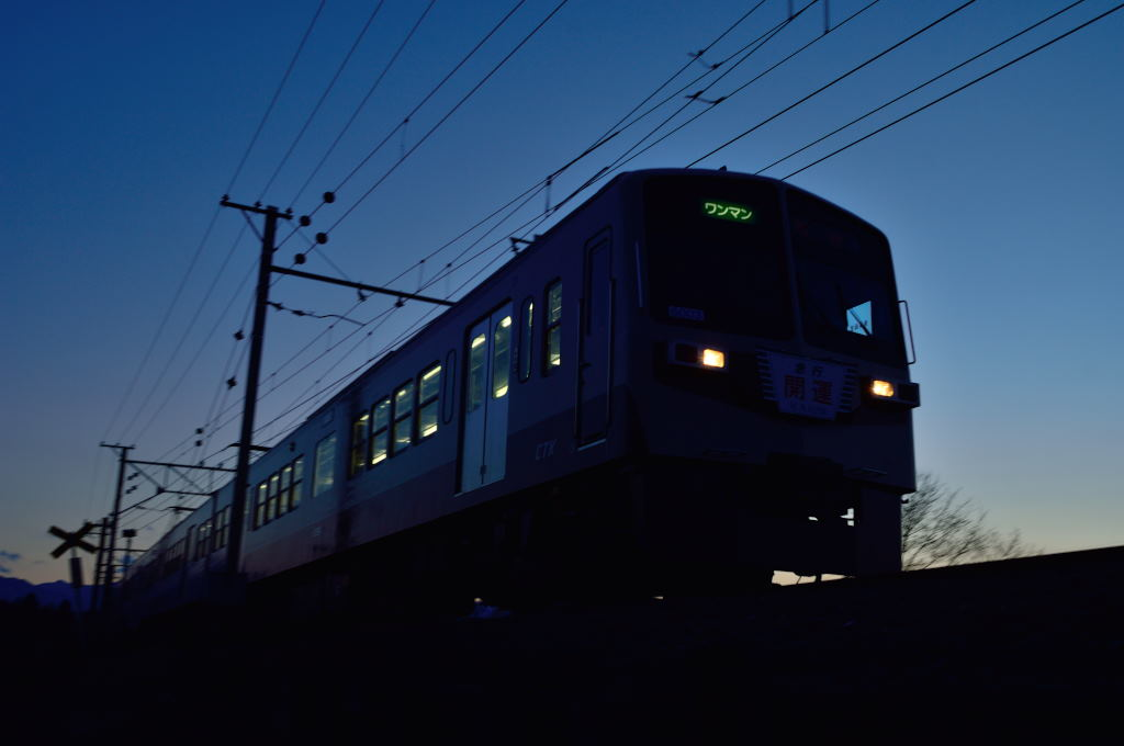 CTK_series6000_6003F_in_express_revival_color_in_Chichibu_city