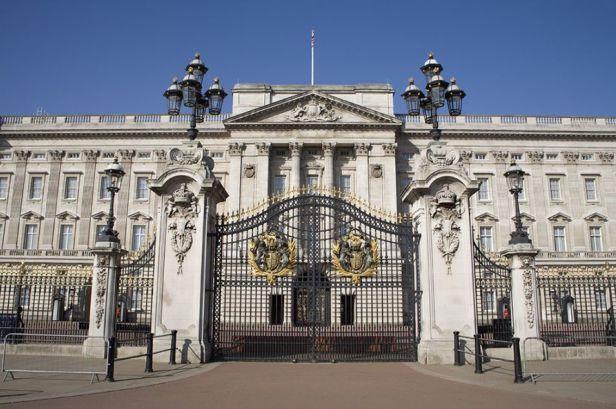 Istana Buckingham, London