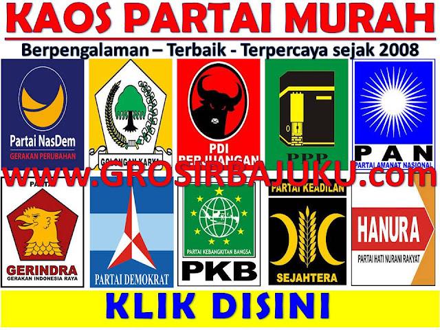 Eko Kusnurhadi Kaos Partai Caleg Pilkada TERMURAH Di Indonesia