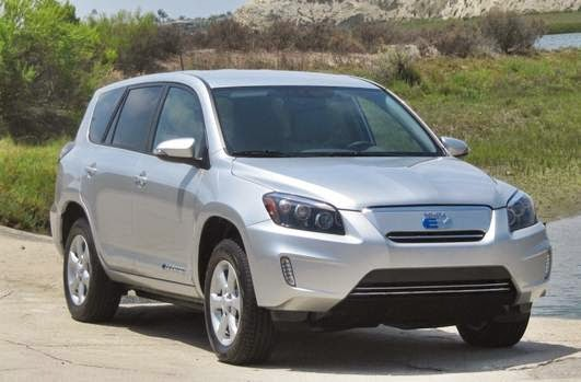 2015 Toyota Rav4 EV Review