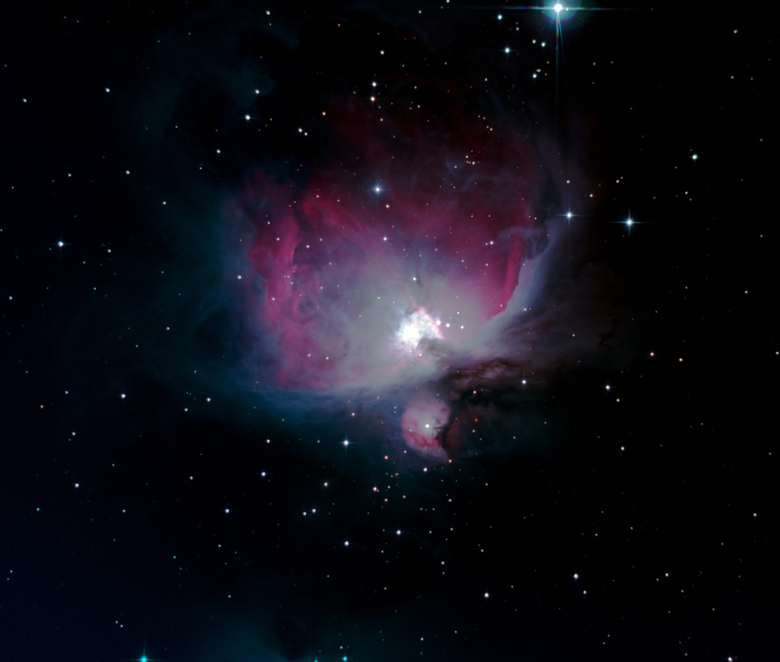 how big is orion nebula - photo #17