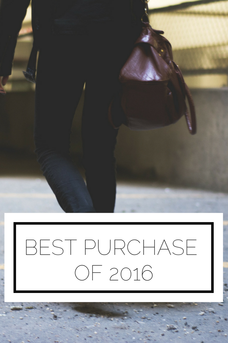 Click to read now or pin to save for later! When reflecting on how you spent your money over the course of the year, what comes to mind? Is it of the new outfit you got or of the experiences you've had? Here was my best purchase of 2016