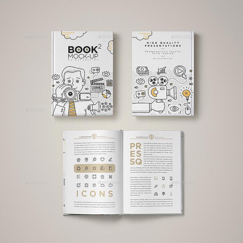 Book Mock-Up Set