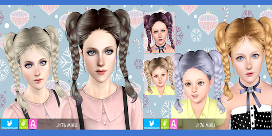 Free Miku Hairstyle by Newsea (Requested)         ~          UTS3