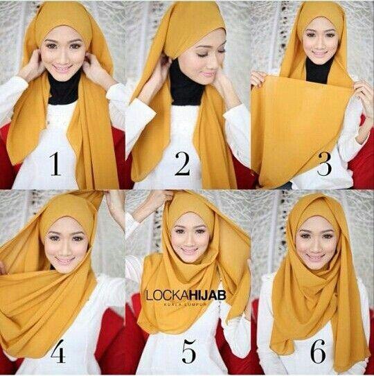 Top 5 Des Plus Beaux Tutoriels de Hijab Pashmina