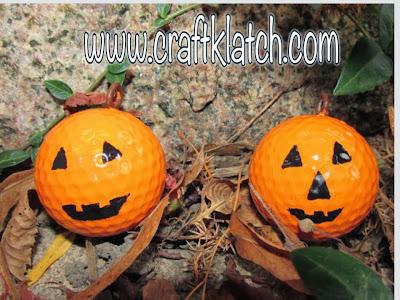 Fun pumpkins craft