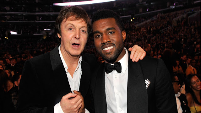Según Paul McCartney, Kanye West es un loco que inspira.
