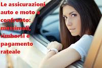 Assicurazioni Rc moto e auto, confronto tra le condizioni contrattuali