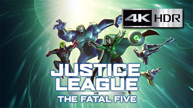 La Liga de la Justicia vs Los Cinco Fatales (2019) 4K UHD [HDR] Latino-Ingles