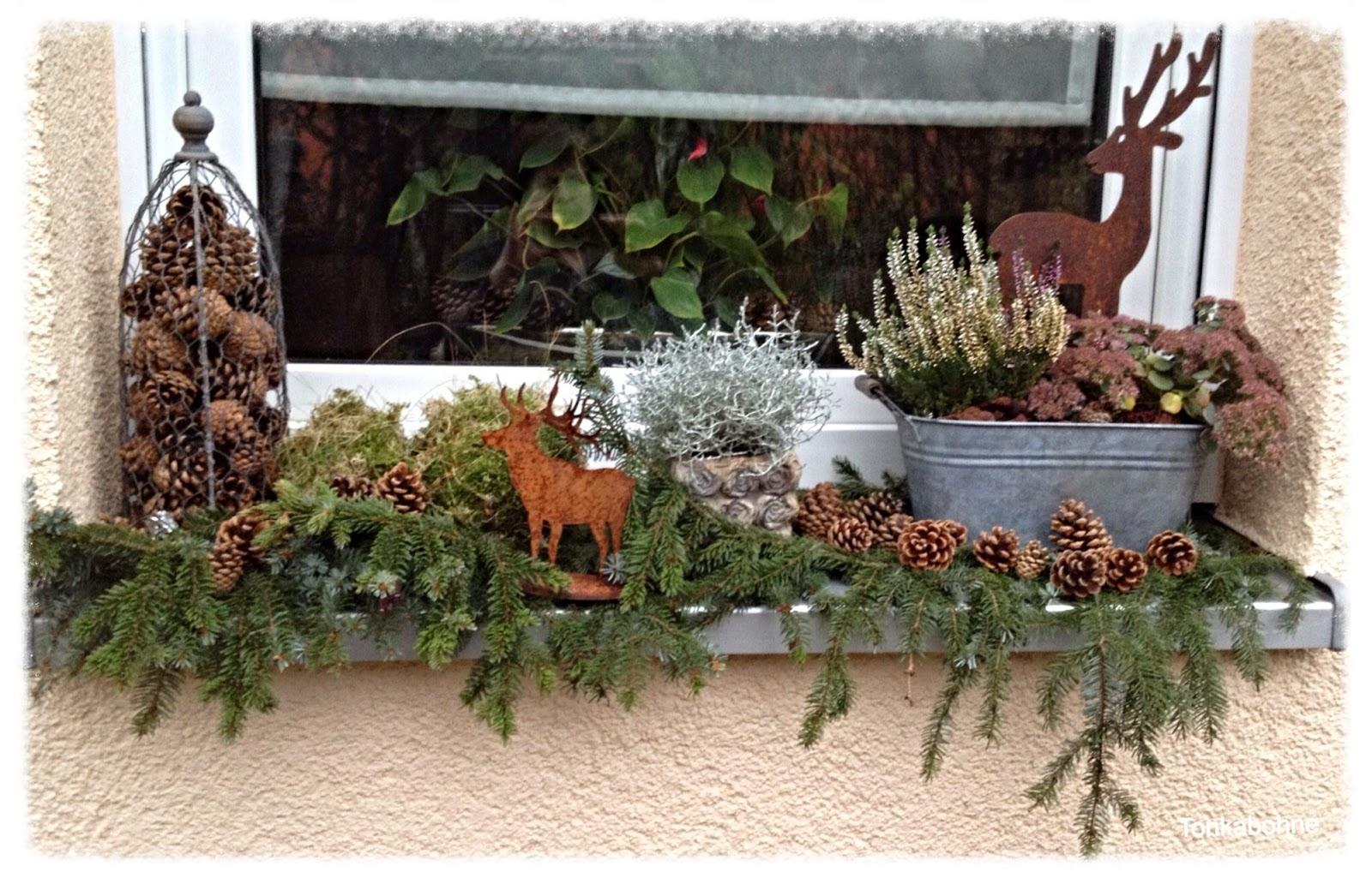 Dekoration Fensterbank Dekorieren Blumen Verblffende Ideen Fr