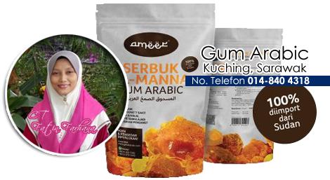 stokis gum arabic, almanna, gum arabic, gum arabic food, gum arabic kuching, gum arabic sarawak, acacia senegal, prebiotik, sudan, getah arab,