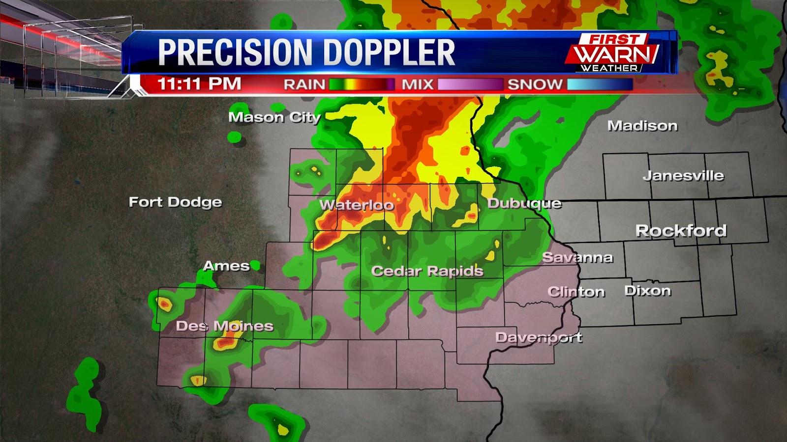 First Warn Weather Team: Wednesday Evening Storm Update