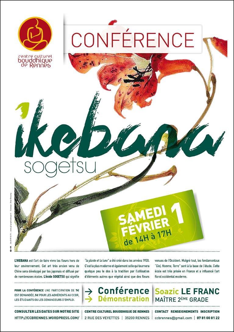 Conférence Ikebana «Sogetsu»