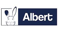 Le logo de la marque Albert matelas représente un lapin