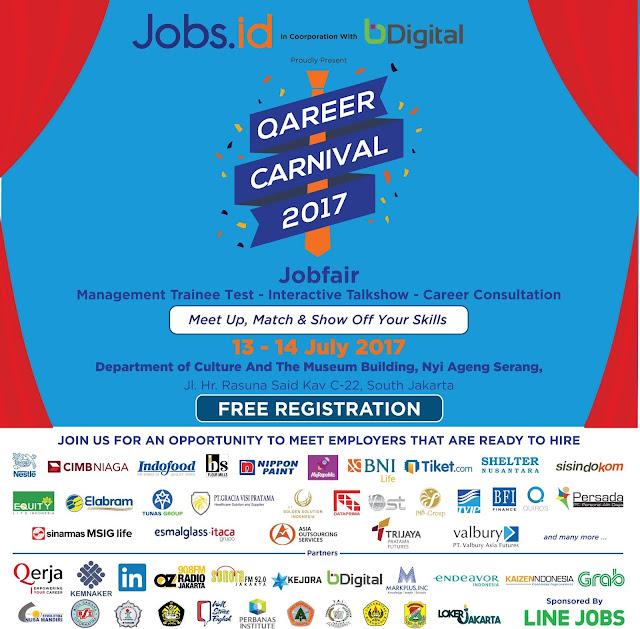 Qareer Carnival 2017, Wadahnya Para Pencari Kerja